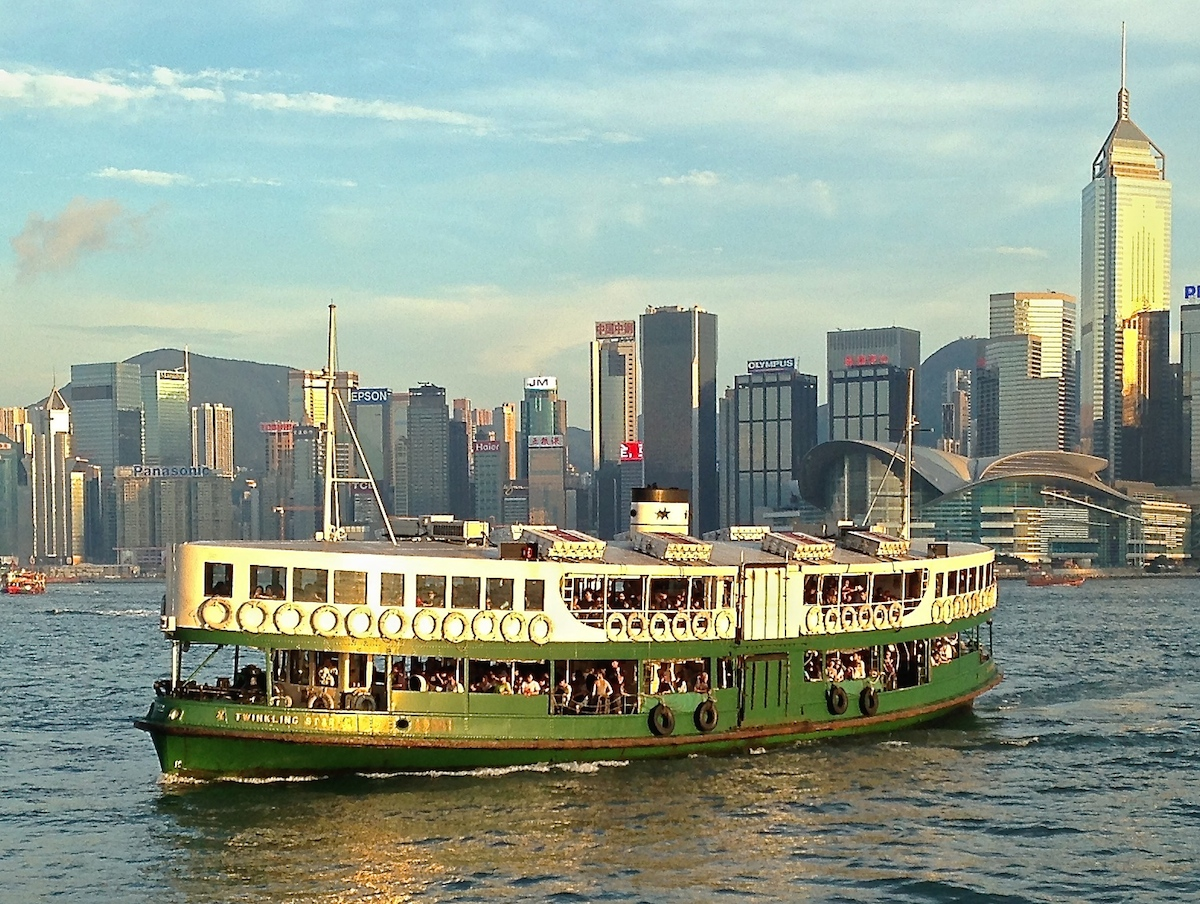Hong Kong's public transportation system has a wide variety of modes.