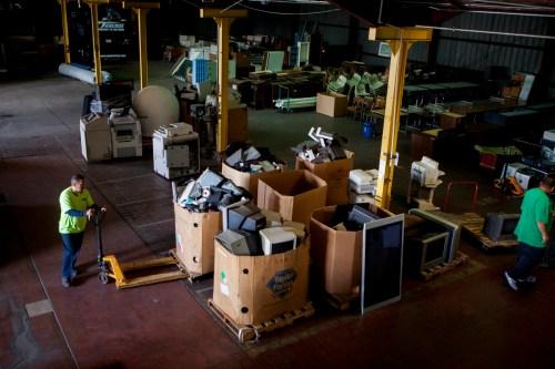 USD e-waste center