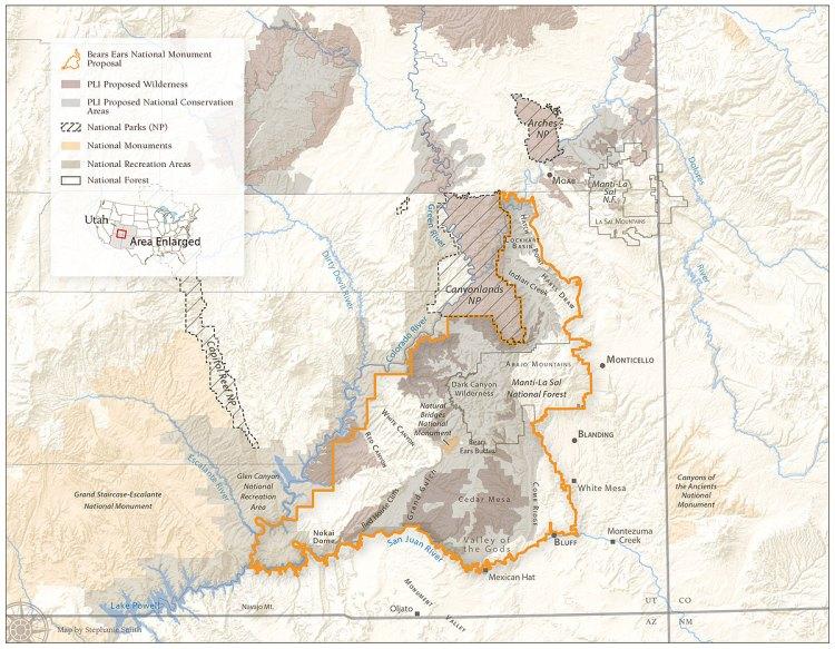Public Lands Initiative map