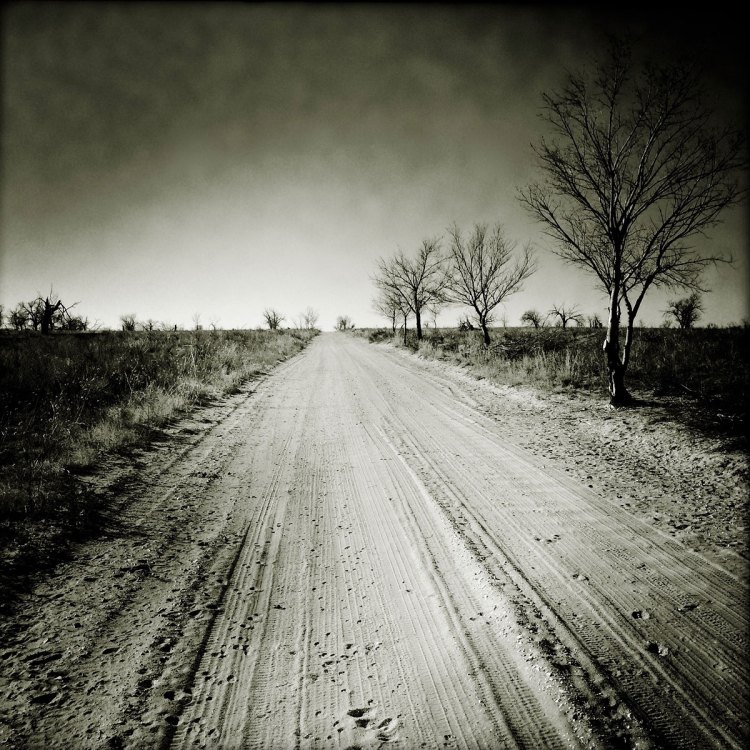 Amache dirt lane. Photo by Sarah Skeen.