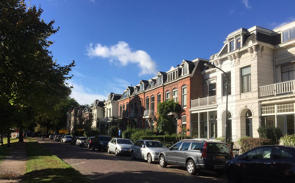 Rowhouses in Haarlem