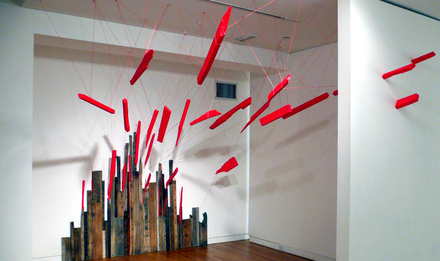 Time-Binding: Installations and Drawings by Sarah Hardesty