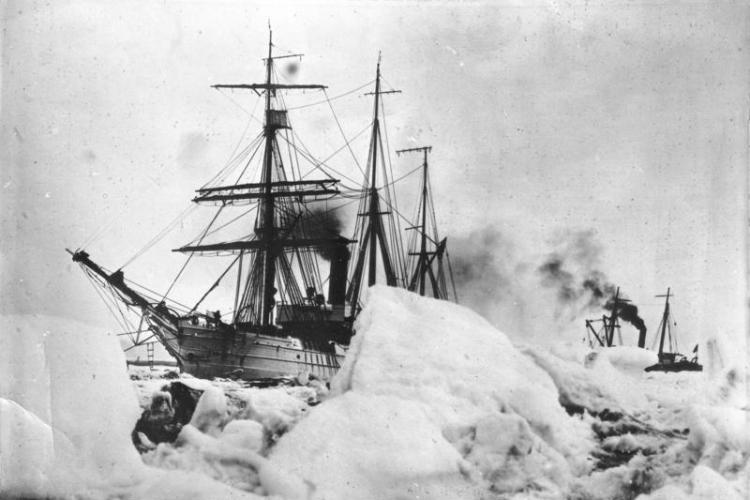 Byrd Antartcica expedition ships.