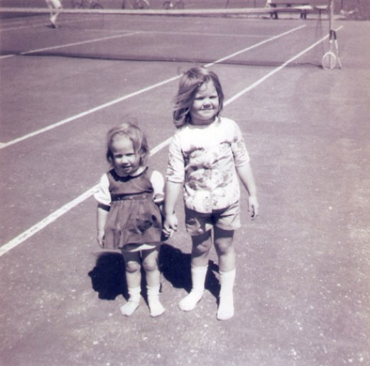 Lyn Baldwin and her sister