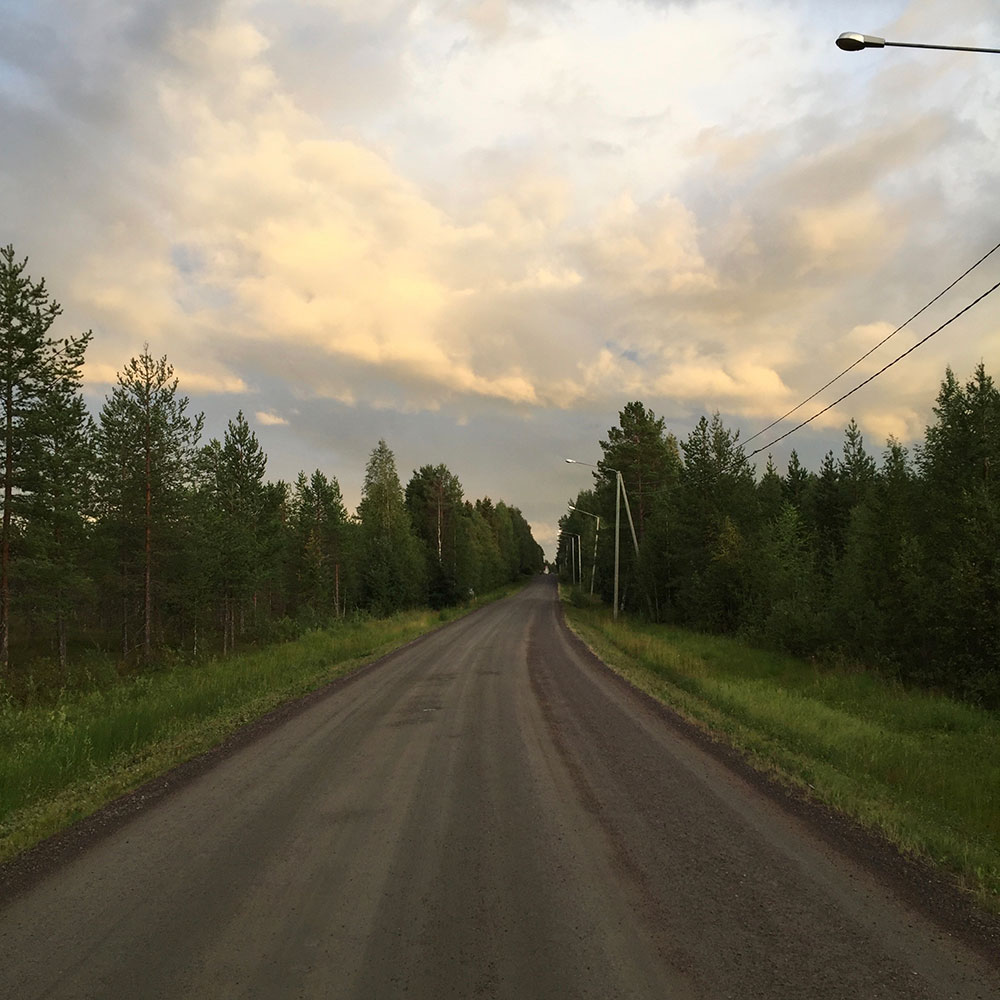 The road at Misi