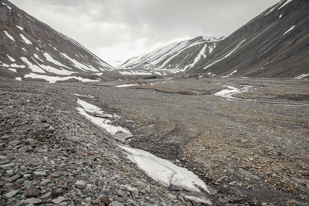 Svalbard landscape. Photo by Michael O. Snyder.