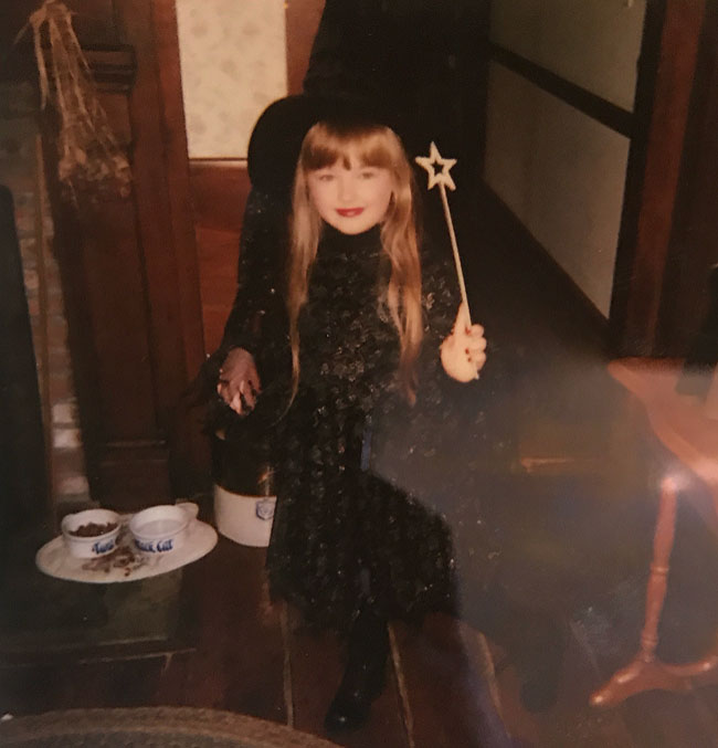 Samantha the young witch