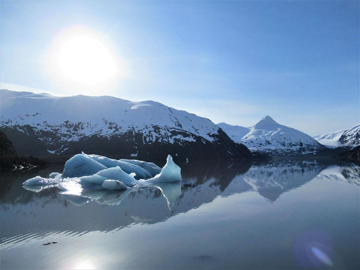 Portage Lake, Chugach National Forest, South-Central Alaska