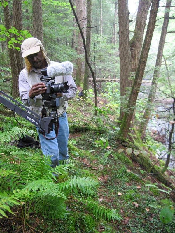 Roberto Mighty shooting footage