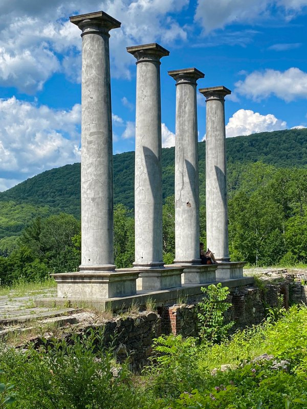 """Columns are among all that's left of """"Ashintully"""""""