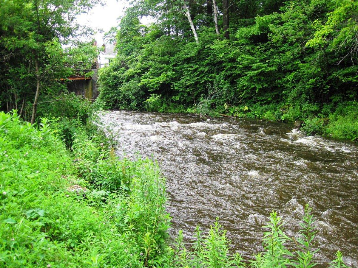 Hop Brook rapids