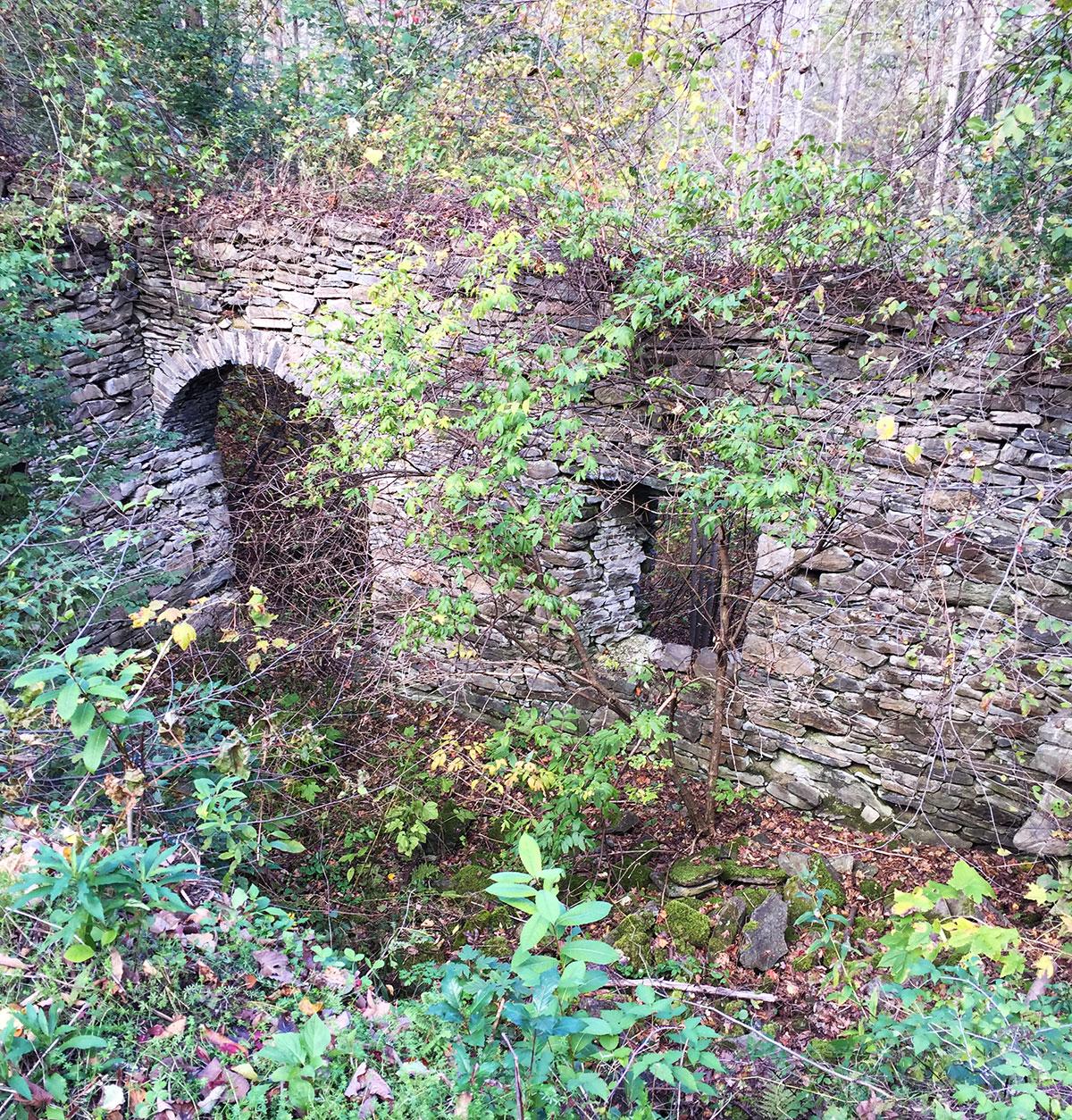 Ruins at Stedman's Rake Factory