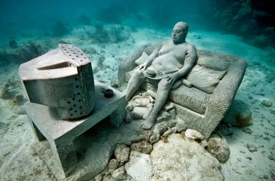 """""""Intertia"""" by Jason deCaires Taylor"""