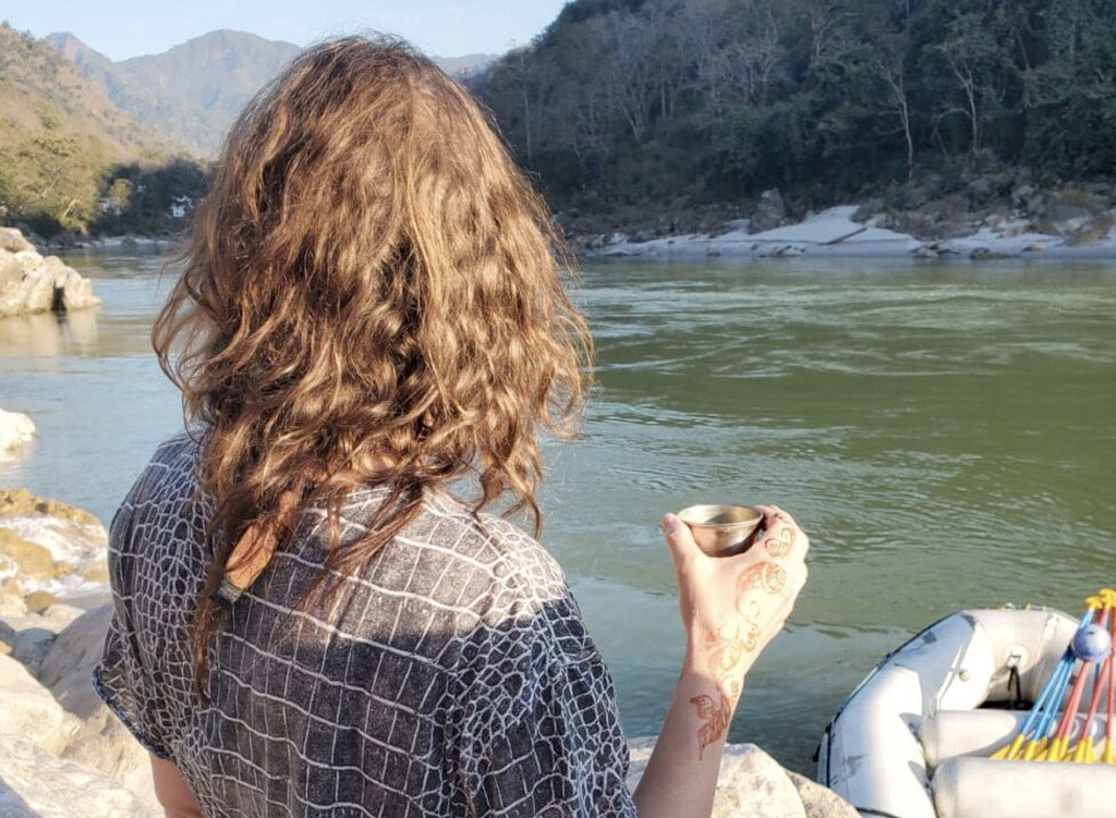DJ Lee on the river