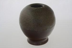 vase boule ecaille noisette