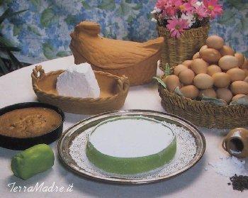 Torta Di Pan Di Spagna Con Ricotta