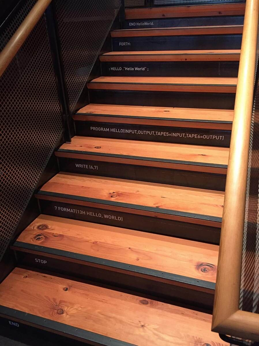 Rethinking The Humble Stair Tread 8 Reclaimed Wood Stair Tread | Unfinished Stair Treads And Risers | Indoor Decorative Stair | Custom | Red Oak | Wood Plank | Hickory