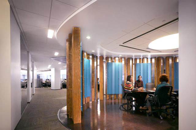 US Green Building Council HQs Reclaimed Doug Fir