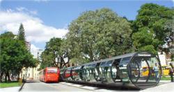 curitiba trasporti autobus