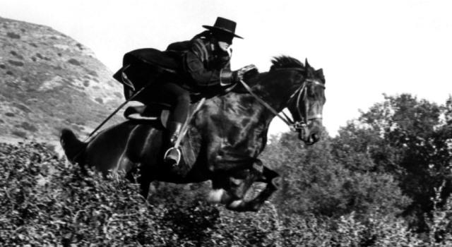 caballo famoso: tornado , el caballo del Zorro