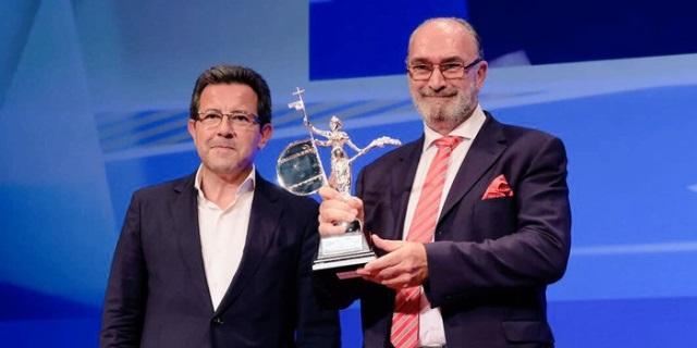 Entrega del Premio Guadalquivir a Zurich Seguros en Sevilla