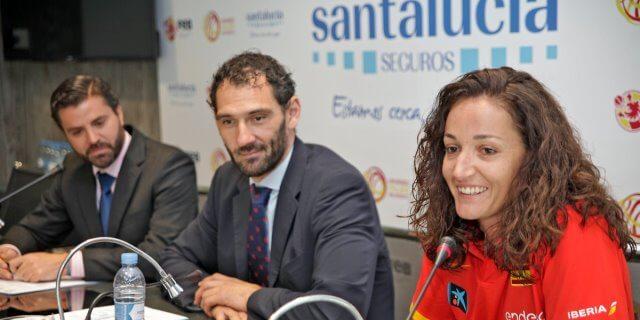 SANTALUCÍA se presenta como patrocinador de la FEB de baloncesto