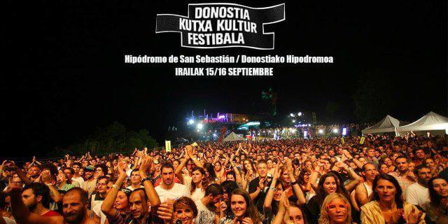 El festival de San Sebastian: DONOSTIA KUTXA KULTUR.