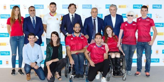 olímpico y paralímpicos con Sanitas