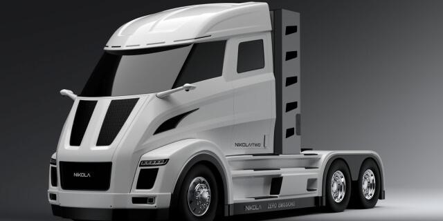 Así son los camiones eléctricos pesados que prepara Nikola Motor Company
