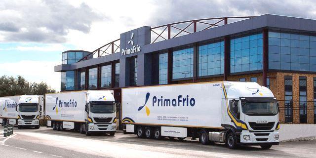 Camiones de Transporte Frigorífico de Primafrío