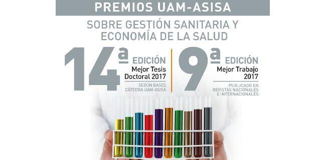 cartel de los premios convocados por ASISA