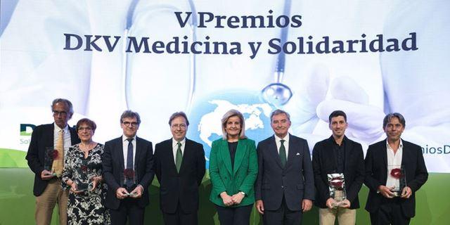 DKV entrega los premios Medicina y Solidaridad