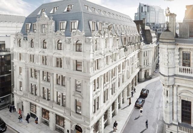 El edificio MAPFRE HOUSE inaugurado esta semana en Londres por Antonio Huertas como nueva sede de la compañía en la City