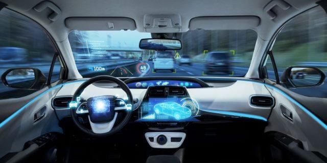 ejemplo de coche autónomo y conectado que funcionara en el futuro en nuestras carreteras