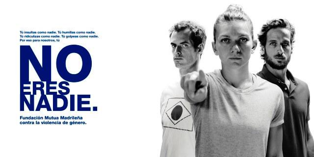 """""""No eres nadie"""", campaña de la Fundación Mutua contra la violencia de género."""