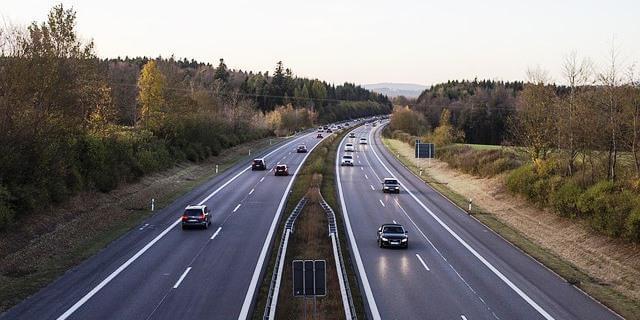 Tráfico en una carretera