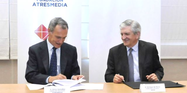 Firma del Convenio entre Fundación ASISA y Fundación Atresmedia