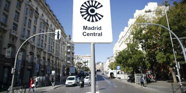 Madrid Central zona afectada de forma directa por el nuevo Plan de Movilidad del Ayuntamiento