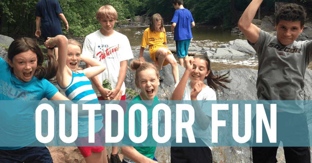 Outdoor Adventure Childhood Development