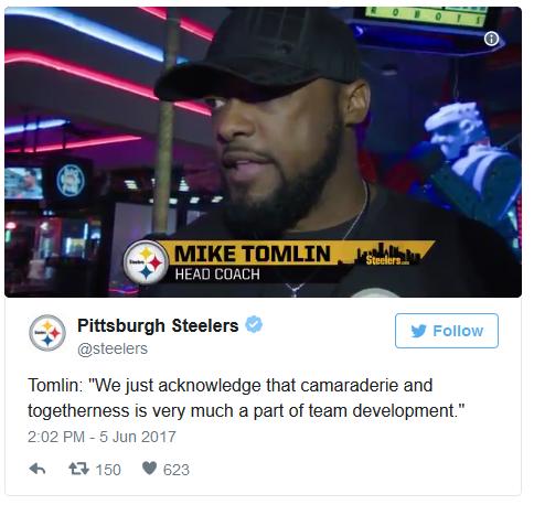 Pittsburgh Steelers Team Building Twitter