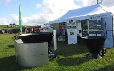 Biochar and Kiln showcase at 2019 Burnie Show