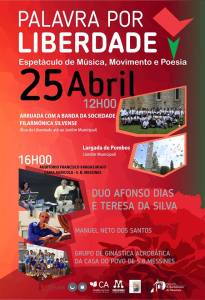 cartaz 25 abril messines