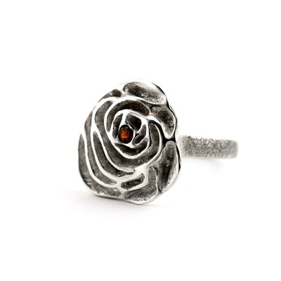 My Sweet Rose Flower Ring-Terra Rustica Jewelry