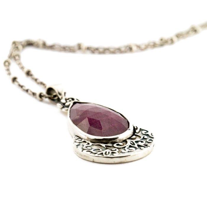 Ruby Rose Necklace-Terra Rustica Design