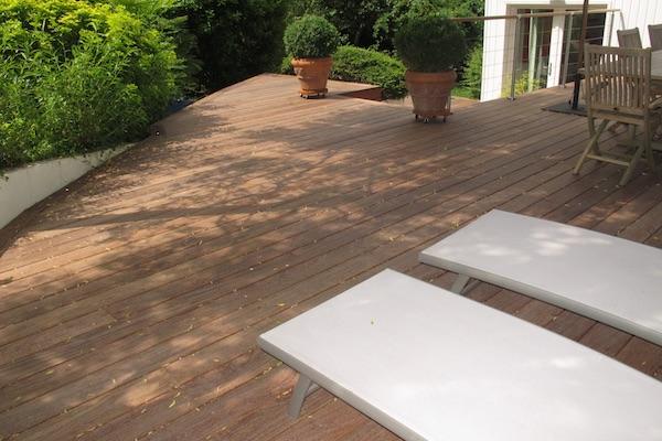 construire sa terrasse en bois materiaux