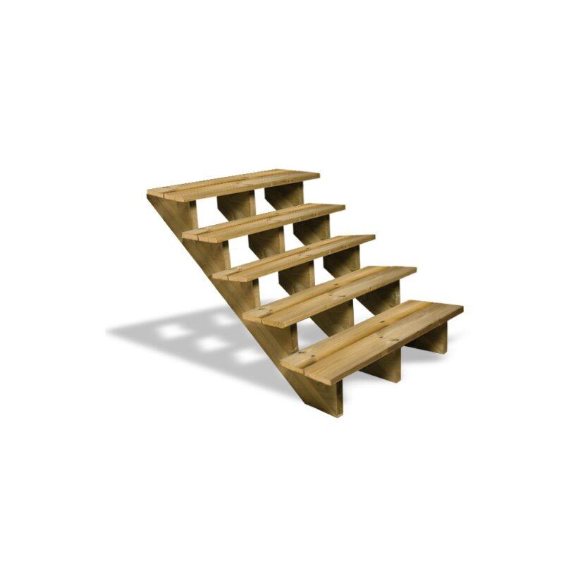 Escalier Exterieur Construire Un Escalier En Bois Conseils Jardin
