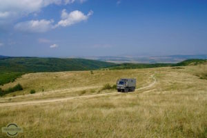 Overland travel: The roads of Romania