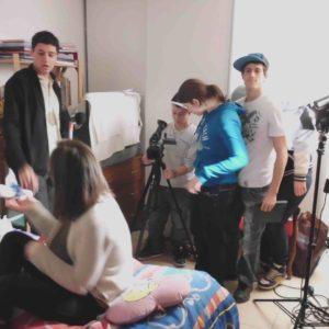 tournage la fleur de Clt