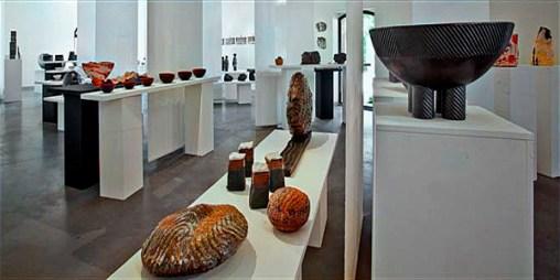 Salle d'exposition du Centre Céramique Giroussens
