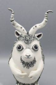 Pilosis Cornélius -Sculpture porcelaine